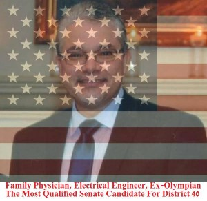 Mario Jimenez American Flag-Family Physician Qualified