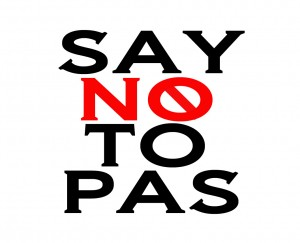 http://www.Saynotopas.com